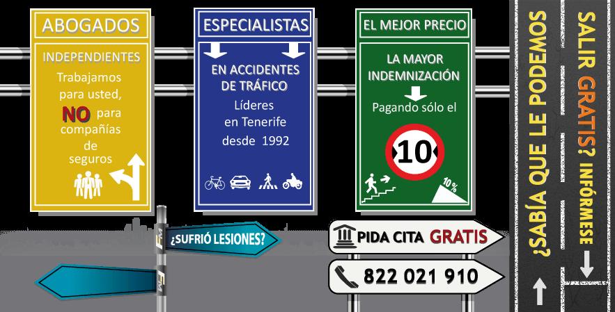 abogados de accidentes en Tenerife