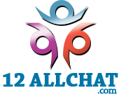 logo for 12AllChat.com