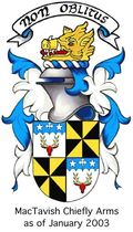 The Arms of MacTavish of Dunardry, 2003