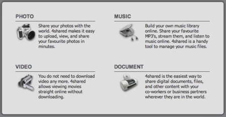 how to download 4share documents
