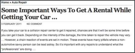 """There's nothing """"important"""" in this """"article."""""""