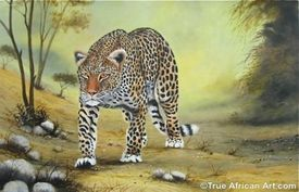 "Wycliff Ndwiga's ""Leopard on the Move"""