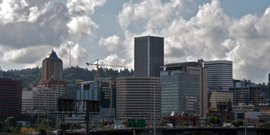 Enjoy the view of downtown Portland