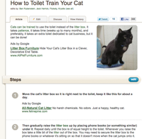 An article on wikiHow.com that is both informative and looks good.